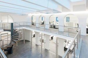 Umbau vom Teppichhandel zum Service-Zentrum einer Firma in Sennfeld
