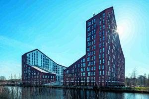 Wohnhochhaus in Groningen