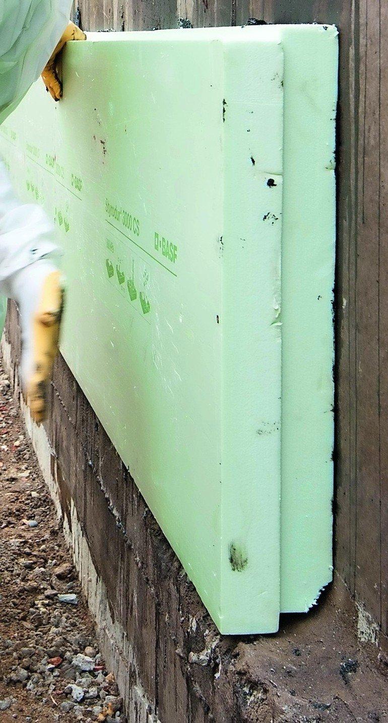 Umkehrdach und Perimeterdämmung: Zulassung für kontaktlos verschweißte XPS-Platten.