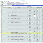 Kostensplitting Hochbau: Darstellung der Kosten im Leistungsverzeichnis verteilt auf die Kostenträger Bund, Land und Investor. Bild: G&W Software AG