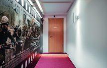 Hohe Schallschutzklasse bei Doppeltür-Konstruktion in Tondstudio. Bild: Jeld-Wen
