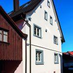 Renoviertes Bauernhas von Außen. Bild: Knauf Aquapanel/Ekkehart Reinsch
