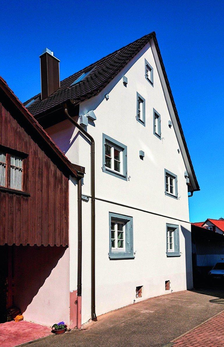 Fachwerkhaus-Sanierung - Mineralische Innendämmung TecTem Historic