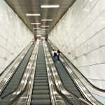 Rolltreppen an der U-Bahnstation Heinrich-Heine-Allee. Bild: Lindner-Group