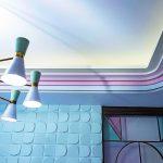 Licht und Schatten werden durch Profile an Wand und Decke erzeugt. Bild: Orac Decor