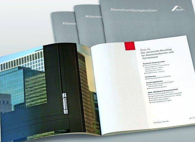 Roto Aluminiumkompendium. Bild: Roto