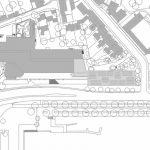 Lageplan. Zeichnung: Meili & Peter Architekten AG