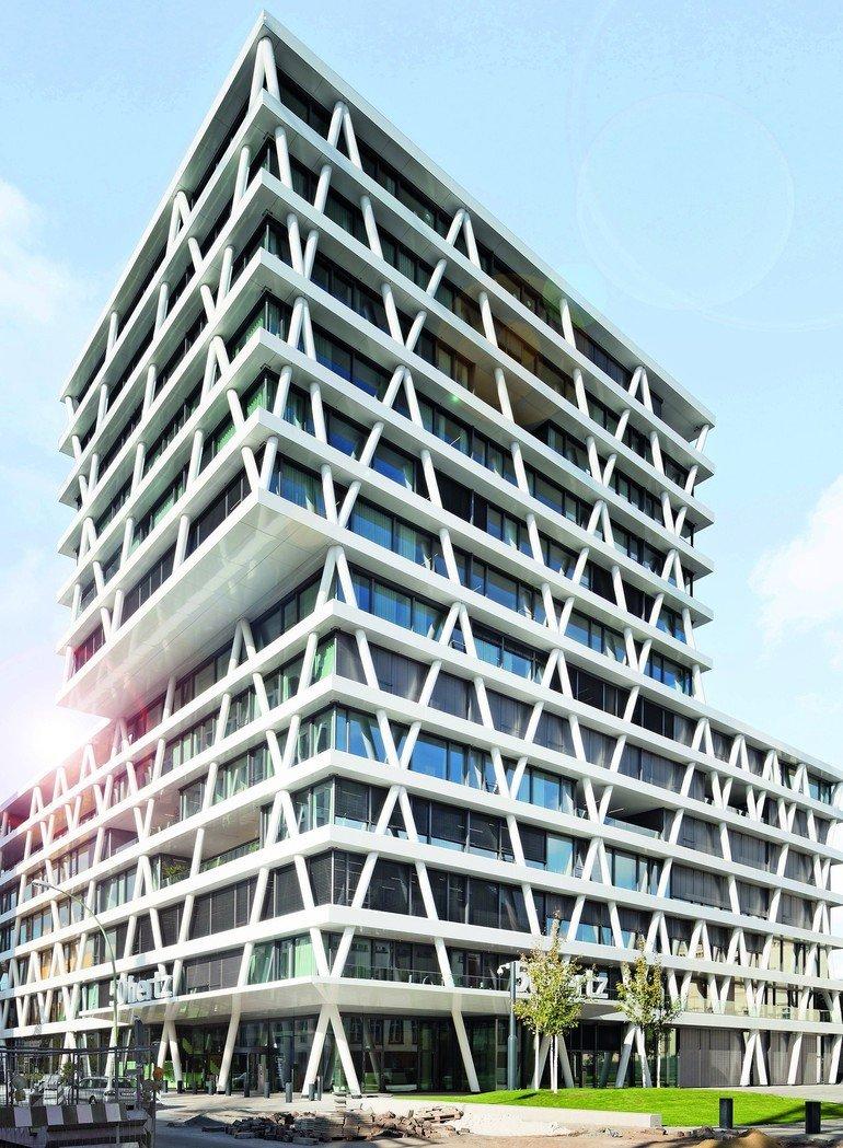 Sonnenschutz für Unternehmenszentrale in Berlin