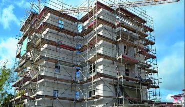 Porenbetonsteine für Mehrgeschossbau