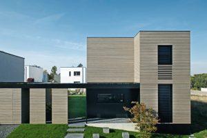 Loft-Charakter und authentische Materialen für Passiv-Wohnhaus. Bild: Kerstin Philipp