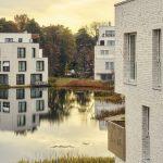 """Insgesamt 129 Wohneinheiten beherbergt das Wohnquartier """"Fünf Morgen-Dahlem Urban Village"""" im Südwesten der Hauptstadt. Bilder: Dallmer GmbH + Co. KG"""