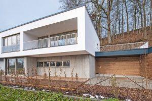 Infraleichtbeton für Neubau eines Einfamilienhauses in Freising