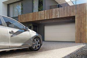 Passivhaustaugliches Garagen-Sektionaltor im Detail weiterentwickelt. Bild: Wisniowski