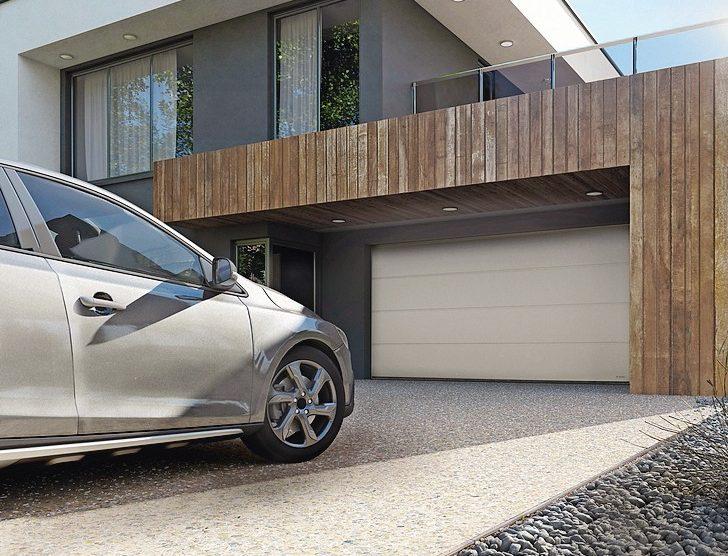 Passivhaustaugliches Garagen-Sektionaltor im Detail weiterentwickelt