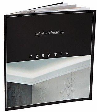 Brillux Brosch Creativ-Themenheft über indirekte Beleuchtung. Bild: Brillux