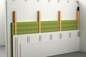 Einbruchschutz mit Gipsfaser-Platten-Konstruktion: Montagewände mit fermacell Gipsfaser-Platten in Widerstandsklassen RC2 und RC3 ohne Stahlblecheinlage. Bild: James Hardie Europe GmbH