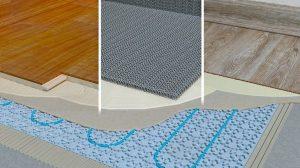 Designböden über Elektro-Fußbodenheizung funktionieren gut: IndorTec Therm-E gibt die Wärme gleichmäßig ab, ohne Temperaturspitzen an einzelnen Stellen. Bild: Gutjahr