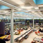 Glastrennwände für Open Office in der Neuen Börse Zürich. Bild: EF Education First