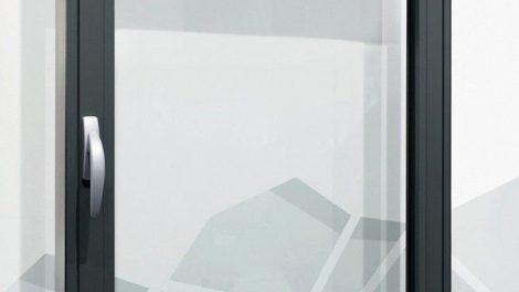 Aluminiumfenster (flächenbündig) bis 80 kg - mit spezieller Bandgeometrie