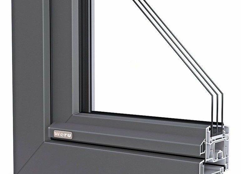 Schlankes Allround-Fenstersystem