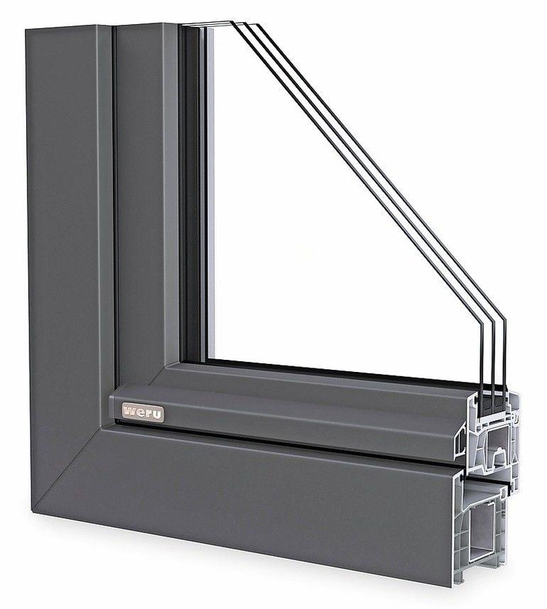 Schlankes Allround-Fenstersystem: Uw-Wert von bis zu 0,95 W/(m2K)