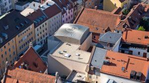 Kuppeldach für Synagoge in Regensburg: Kugel ins Quadrat gesetzt
