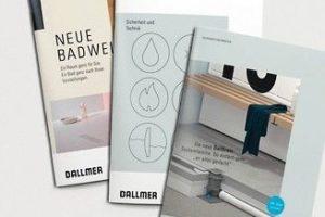 Dallmer Broschüre Neue Badewelt