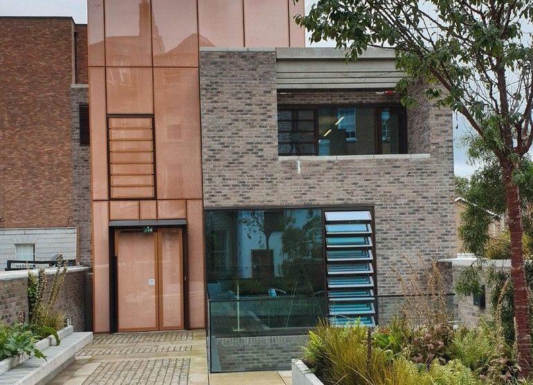 Außenansicht Neubau des Goethe-Instituts in Dublin