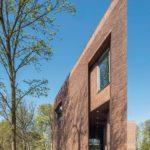 Außenansicht Backsteinbau des Lisse Art Museum
