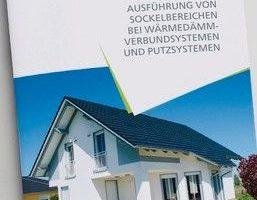 """VDPM-Merkblatt """"Ausfürhung von Sockelbereichen bei WDVS und Putzsystemen"""""""
