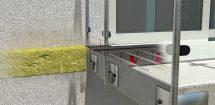 Brandschutz und thermische Trennung durch das Iso-Element. Bild: Halfen GmbH