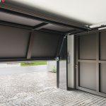 Der Schwenkradius im Innern der Garage ist sehr gering, sodass der vorhandene Platz optimal genutzt werden kann. Bild: Sven Rahm fotografie