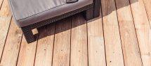 Robinienholz für Terrasse und Garten ist sehr beständig. Bild: Ladenburgerr