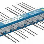 Das Dämmelement Isokorb XT – bei den auskragenden Balkonen zur thermischen Trennung eingesetzt – ist auch als Passivhaus-Komponente zertifiziert. Bild: Schöck Bauteile