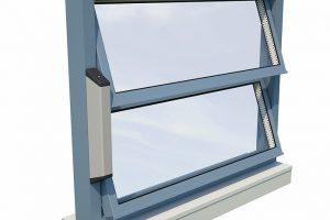 Filigraner Lamellenantrieb für Lamellenfenster - schlank, aber kräftig