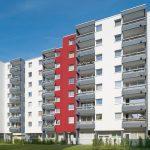 Bochum, Haydnstr, Wohnblocks. Bilder: Brillux, Markus Nilling