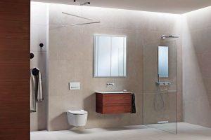 Modernes Bad. Bild: Geberit