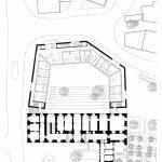 Grundriss EG Eingangsgeschoss für historisches Landratsamt in Neustadt an der Waldnaab