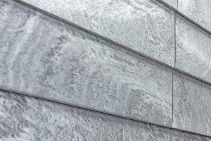 Schieferplatten für die Fassade