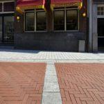 Hagemeister-Pflasterklinker in der Objektsortierung Amsterdam Rood Speciaal