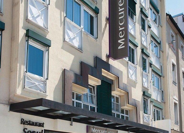 Außenansicht Mercure-Hotel