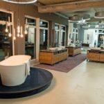 Ausstellung neuer Badarmaturen