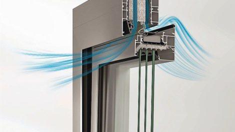Akustikfenster AWS 90 AC.SI von Schüco