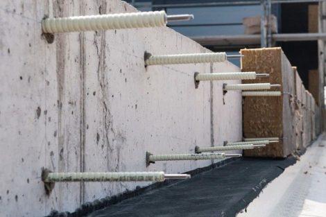 Wärmebrückenfreie Fassadenbefestigung