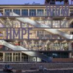 Stahlprofile-Glas-Fassade mit Wow-Effekt.