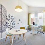 Arztzimmer mit wohnlicher Atmosphäre. Bild: bkp GmbH, Fotocredit: Annika Feuss