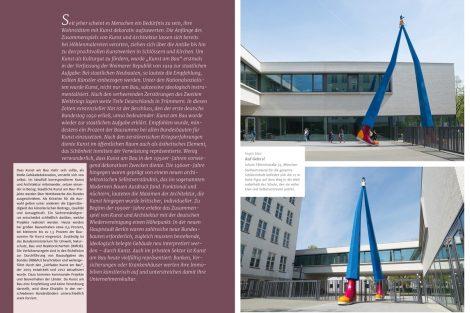 """Mit dem Fokusthema """"Kunst am Bau"""" wird neben dem farblichen Schwerpunkt ein Augenmerk auf architektonisch außergewöhnliche Kunstprojekte gelegt. Bild: Brillux"""