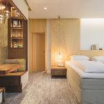 Hotelzimmer im Creativholte Luise mit wiederverwenbaren bzw. biologisch abbaubaren Materialien