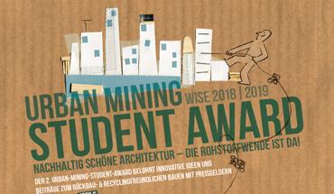 Im Rahmen des 2. Urban Mining Student Award sind Architektur-Studierende dazu aufgerufen, neue Nutzungskonzepte für eine Steinkohlezeche zu erarbeiten.