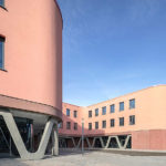Neubau der Reinoldi Sekundarschule, Dortmund. Architektur: SSP AG, Bochum. Bild: Detlef Podehl - Podehl Fotodesign